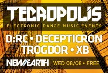 8.08.12 Tecropolis Second Wednesdays at New Earth Music Hall