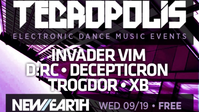 9.19.12 Tecropolis Second(ish) Wednesdays at New Earth Music Hall