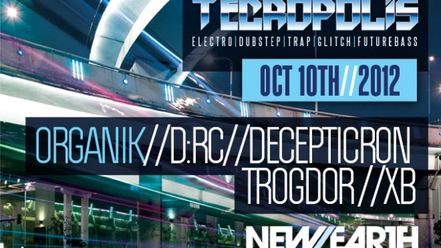 10.10.12 Tecropolis Second Wednesdays at New Earth Music Hall