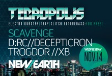 11.14.12 Tecropolis Second Wednesdays at New Earth Music Hall