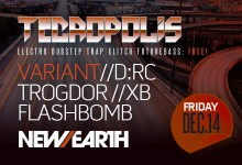 12.14.12 Tecropolis Year End Bash at New Earth Music Hall