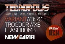 12.14.12 Tecropolis Year End Bash at New Earth Music Hall