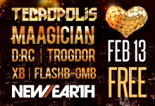 02.13.13 Tecropolis Love and Luxury at New Earth Music Hall