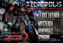 04.17.13 Tecropolis: The Battle for Cybertron at New Earth Music Hall