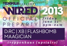 06.21.13 Tecropolis Presents: The Official Wired Preparty at Treppenhaus