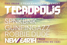 08.08.13 Tecropolis: Summer Daze at New Earth Music Hall